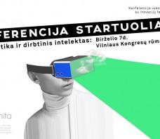 Konferencija startuoliams: Robotika ir dirbtinis intelektas