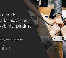 Mokslo-verslo bendradarbiavimas: ikiprekybiniai pirkimai