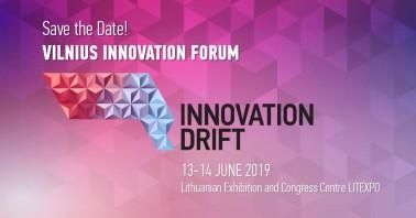 """Vilniaus inovacijų forumas """"Innovation Drift 2019"""""""