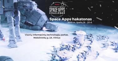 """Tarptautinis NASA hakatonas """"Space Apps Challenge"""""""