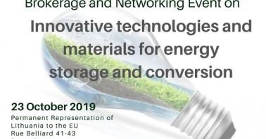 LINO partnerysčių paieškos renginys Briuselyje