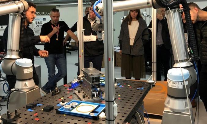 Gamybos modernizacija – Danijos pamokos ir žmogui saugūs robotai