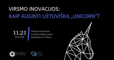 Virsmo inovacijos: kaip auginti lietuvišką unicorn?