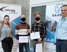 Kauno MTP bendruomenės nariai apdovanojo energetikos technologijų konkurso nugalėtojus