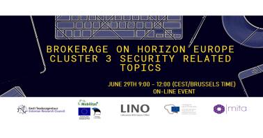 """Europos Horizontas trečiojo klasterio """"Civilinė visuomenės sauga"""" partnerių paieškos renginys"""