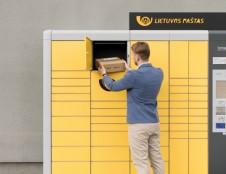 Lietuvos paštas planuoja dvigubai išplėsti paštomatų tinklą