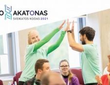 """Biohakatone """"Sveikatos kodas 2021"""" triumfavo komanda, siekianti užtikrinti kokybišką senyvų žmonių reabilitaciją namuose"""